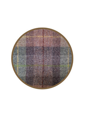 Harris Tweed Whisky Barrel Clock