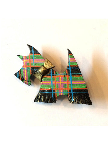 Skaramanda Scotty Dog Brooch