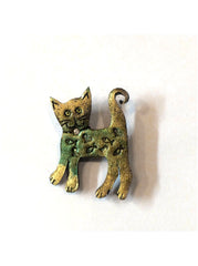Skaramanda Cat Brooch