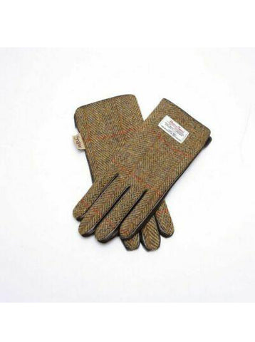 Harris Tweed Chestnut Gloves