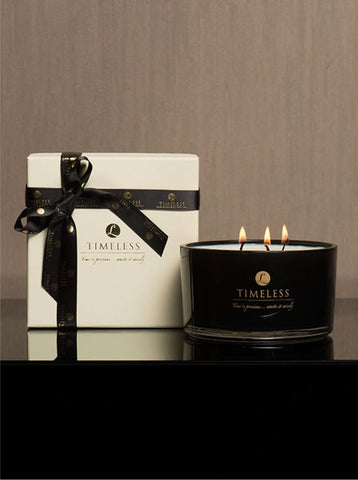 Timeless Candle Black Plum & Pomegranate
