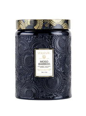 Moso Bamboo Candle with Lid