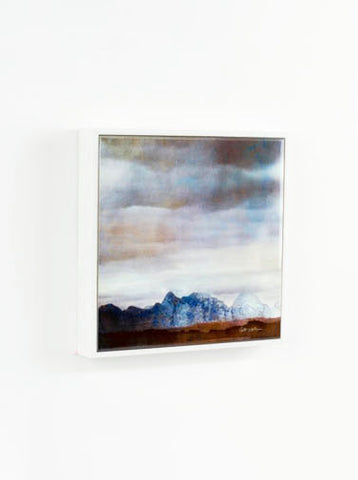 Framed Ceramic Tile, The Cuillins, Skye