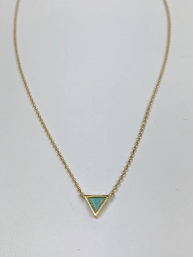 Modern Opus Mint Opal Necklace