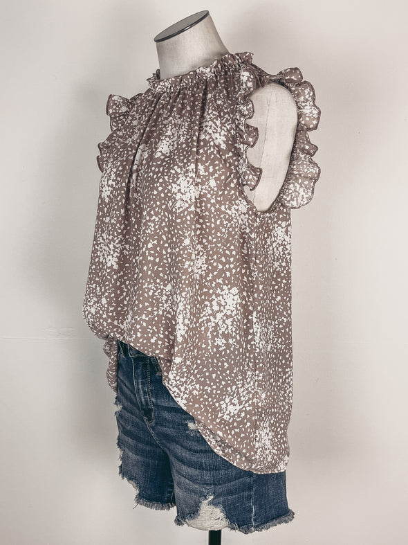 Skinny Double O Ring Belt