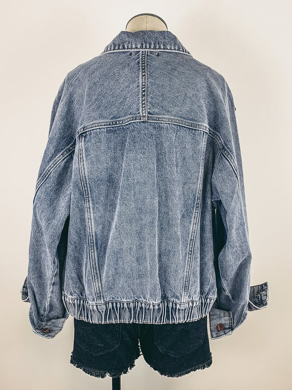 Dear John Cody Denim Jacket in Mallord