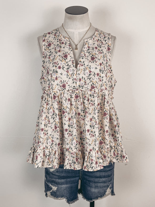 Tie Dye Button Down Shirt in Grey