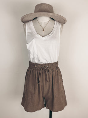 Plaid Shacket in Green