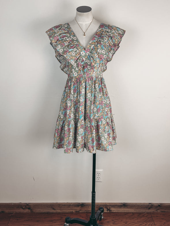 Plaid Shacket in Navy