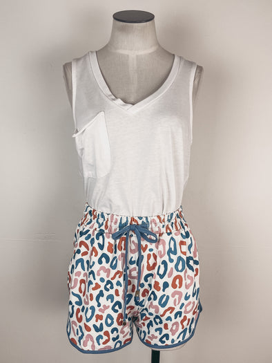 The Light Blonde In God We Trust Camo Tee