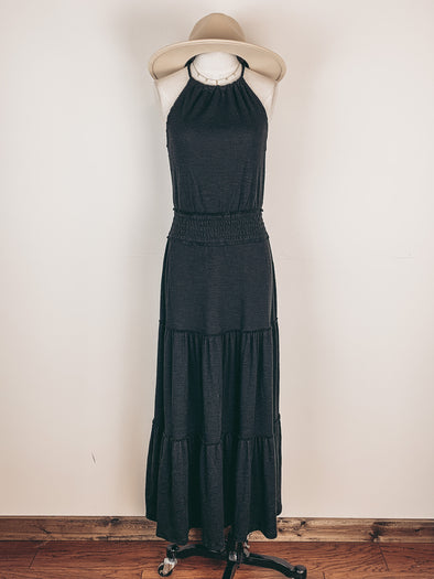 Z Supply Beverly Slub Dress in Black