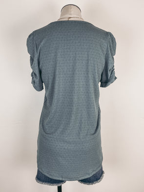 Z Supply Easy Star Tee in Charcoal