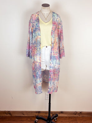Very G Jeanie Wedge in Cream Leopard