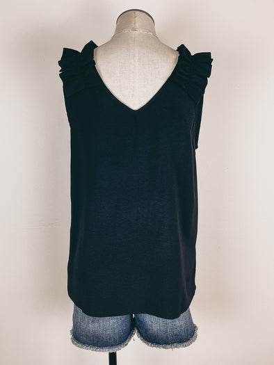 Bubble Sleeve Blouse in Ivory