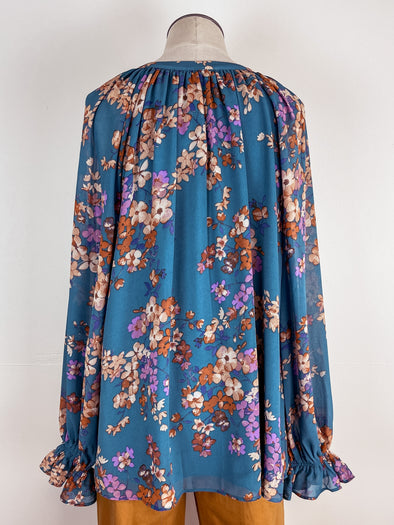 Distressed Denim Shacket