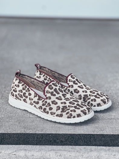 Gypsy Jazz Sporty Slip On in Leopard