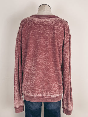 Hello Fall Tee in Clay