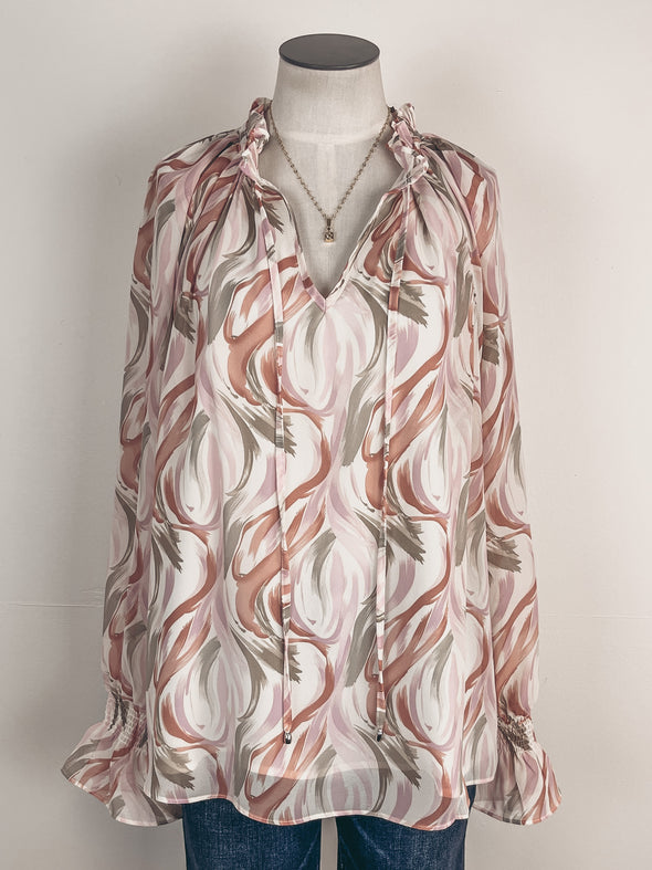 Tie Dyed Pocket Tank in Neon