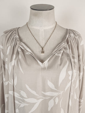 Thankful Rainbow Tee in Olive