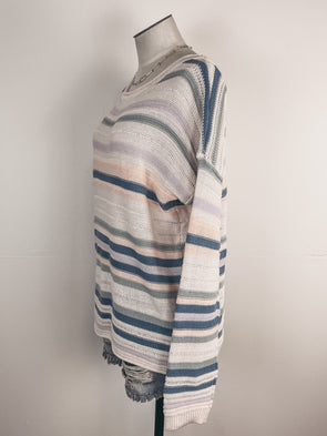 Ruffle Sleeve Mock Neck Blouse in Black