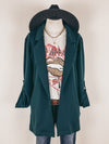 Blazer Jacket in Hunter Green