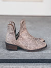 Corkys Depo Booties in Grey Cheetah