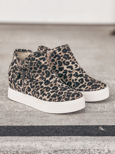 Very G Angela Sneaker in Leopard