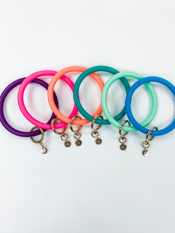 Bangle Bracelet Keyring in Solid
