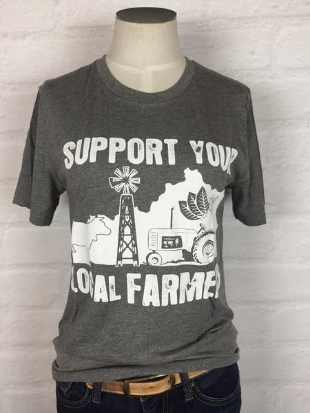 Kentucky Support Your Local Farmer Tee *more colors