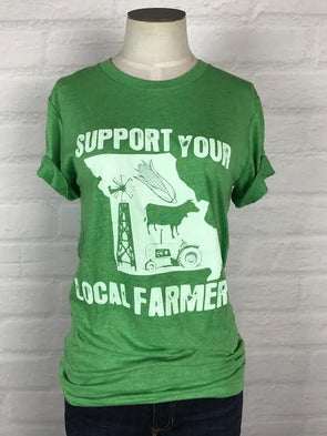 Missouri Support Your Local Farmer Tee *more colors