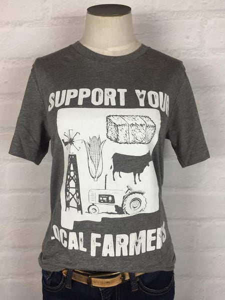 New Mexico Support Your Local Farmer Tee *more colors
