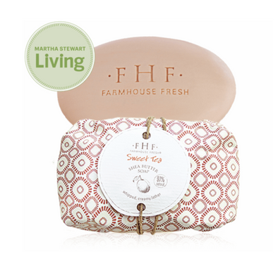 FarmHouse Fresh Sweet Tea Shea Butter Soap 5.25oz