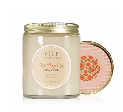 FarmHouse Fresh One Fine Day Shea Sugar Facial Polish 6 oz