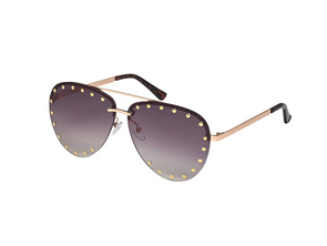 Blue Gem Kimmie Sunglasses
