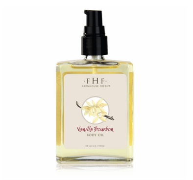 FarmHouse Fresh Vanilla Bourbon Body Oil 4oz