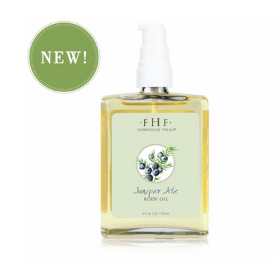 FarmHouse Fresh Juniper Ale Body Oil 4oz