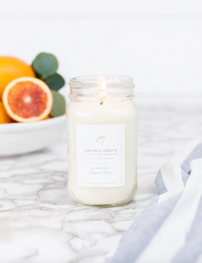 Antique Candle Co. Orange Grove by Our Faux Farmhouse Candle