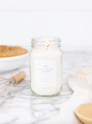 Antique Candle Co. Warm Caramel Crumble by Sarah Joy Candle