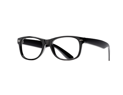 Blue Planet Classic Blue Light Blocking Glasses in Black