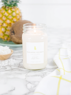 Antique Candle Co. Pineapple Coconut Candle