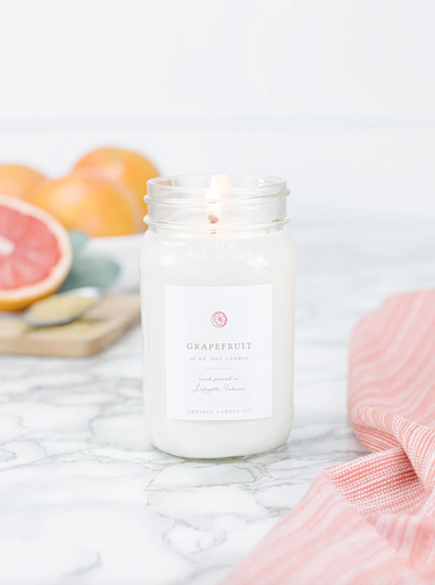 Antique Candle Co. Grapefruit Candle