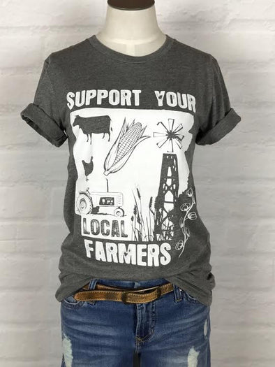 Arkansas Support Your Local Farmer Tee *more colors