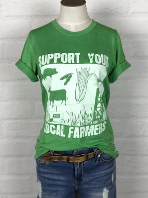Colorado Support Your Local Farmer Tee *more colors