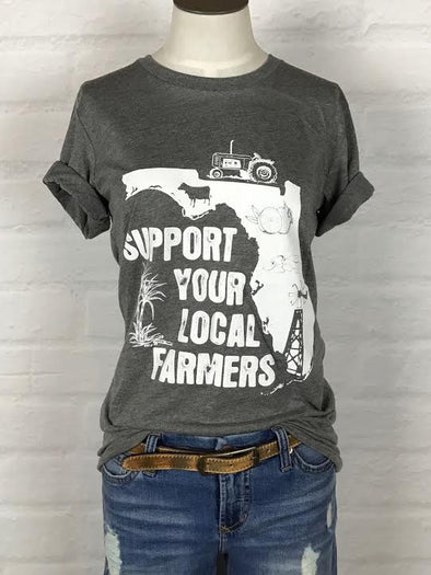 Florida Support Your Local Farmer Tee *more colors