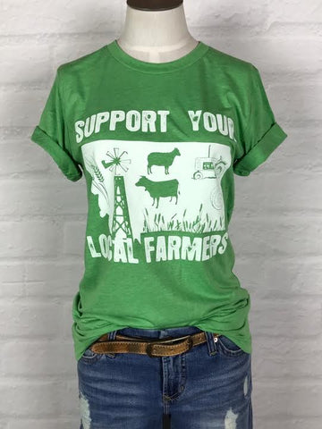 Montana Support Your Local Farmer Tee *more colors