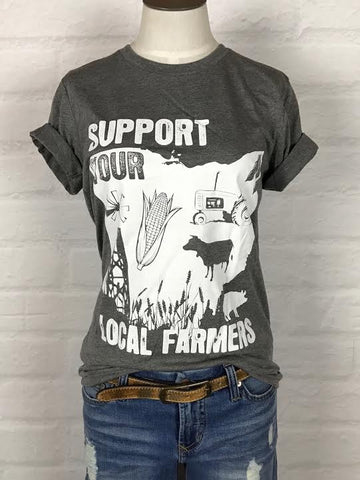 Ohio Support Your Local Farmer Tee *more colors