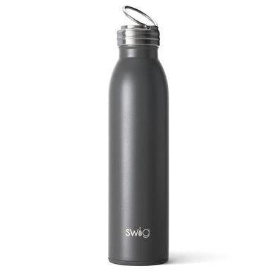 Swig 20oz Bottle in Matte Grey