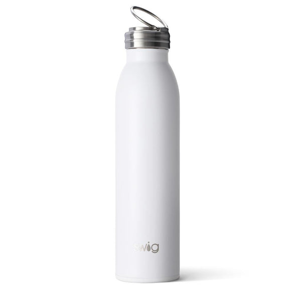 Swig 20oz Bottle in Matte White