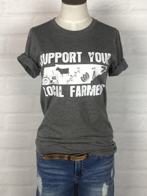 Tennessee Support Your Local Farmer Tee *more colors