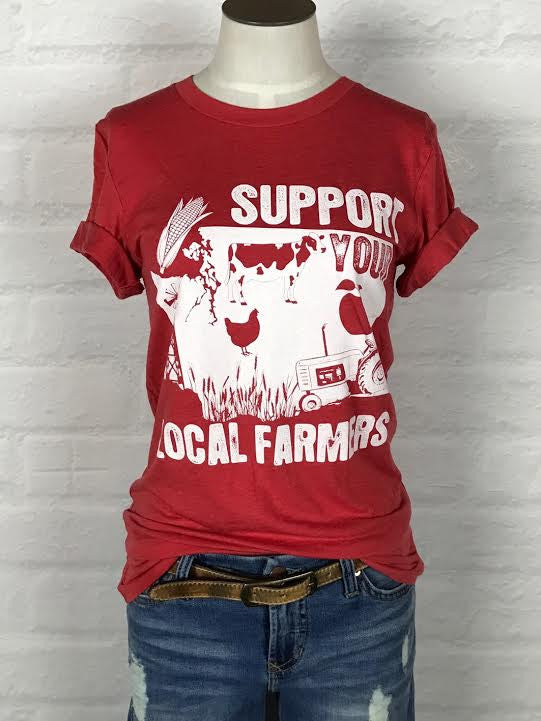 Washington Support Your Local Farmer Tee *more colors